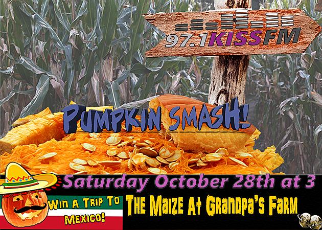 Kiss FM Pumpkin Smash